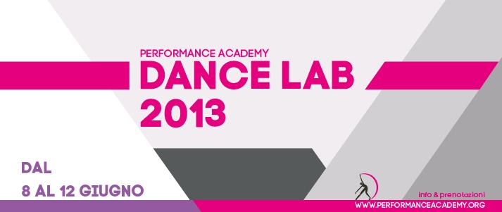 ESTATE 2013 – Stage danza intensivo