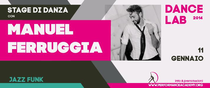 STAGE – jazz funk con Manuel Ferruggia