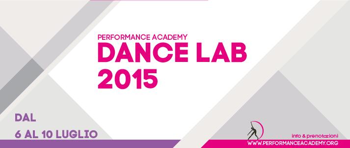 ESTATE 2015 – Stage danza intensivo
