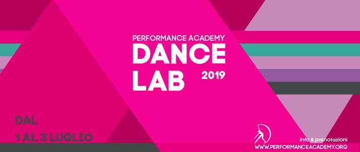 DANCE LAB – ESTATE 2019